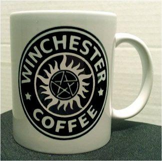 Supernatural Winchester Coffee Porcelain Mug