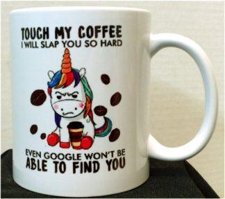 I Will Slap You So Hard Porcelain Mug