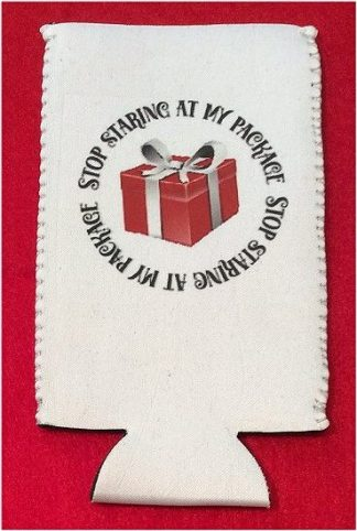 Naughty List Christmas Tallboy Coozie #1