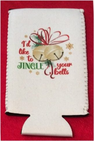 Naughty List Christmas Tallboy Coozie #3