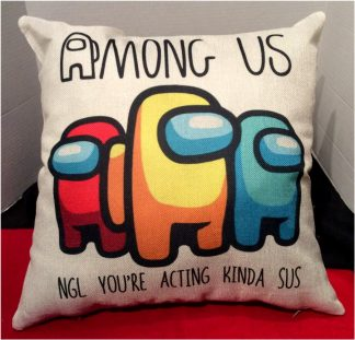 Among Us Pillow Cover #2