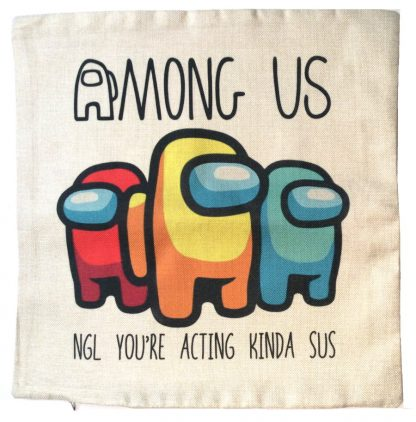 Among Us Pillow Cover #2