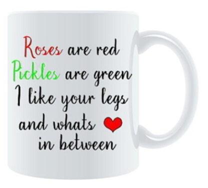 I Love Your Legs and... Porcelain Mug
