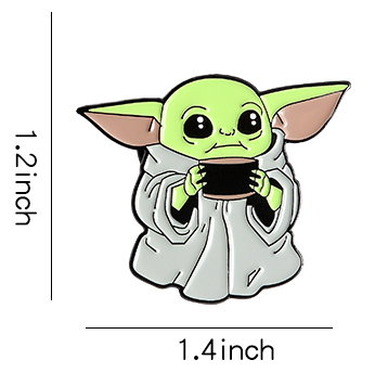 The Mandalorian Baby Yoda Pin #2