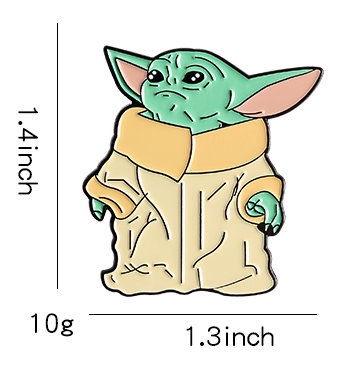 The Mandalorian Baby Yoda Pin #3