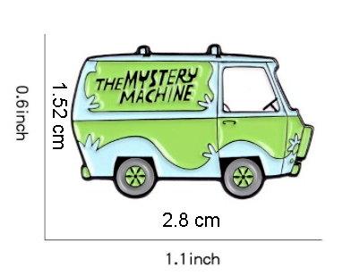 The Scooby Doo Mystery Machine Enamel Pin