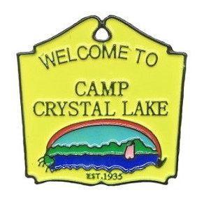 Friday the 13th Camp Crystal Lake Enamel Pin