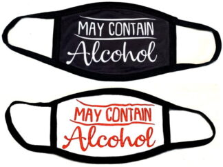 May Contain Alcohol Mask