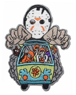 Friday the 13th Jason Vs The Scooby Gang Iron-On Patch