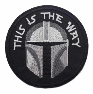 Star Wars The Mandalorian This is the Way Iron-On Patch