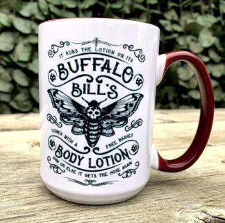 Buffalo Bill's Body Lotion15 oz Porcelain Mug