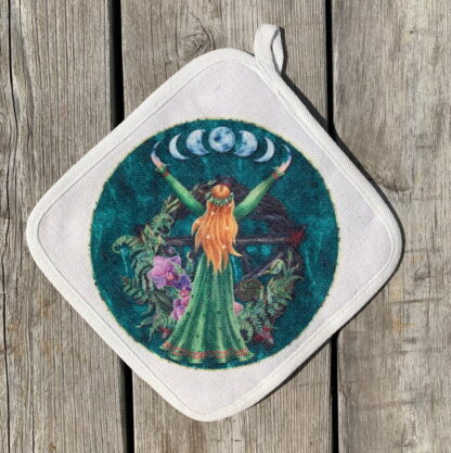 Wiccan Goddess Pot Holder
