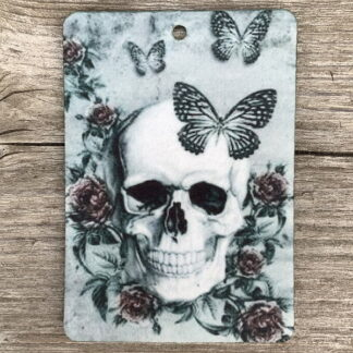 Air Freshener - Butterflies & Skull