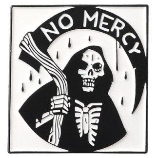 Grim Reaper No Mercy Enamel Pin